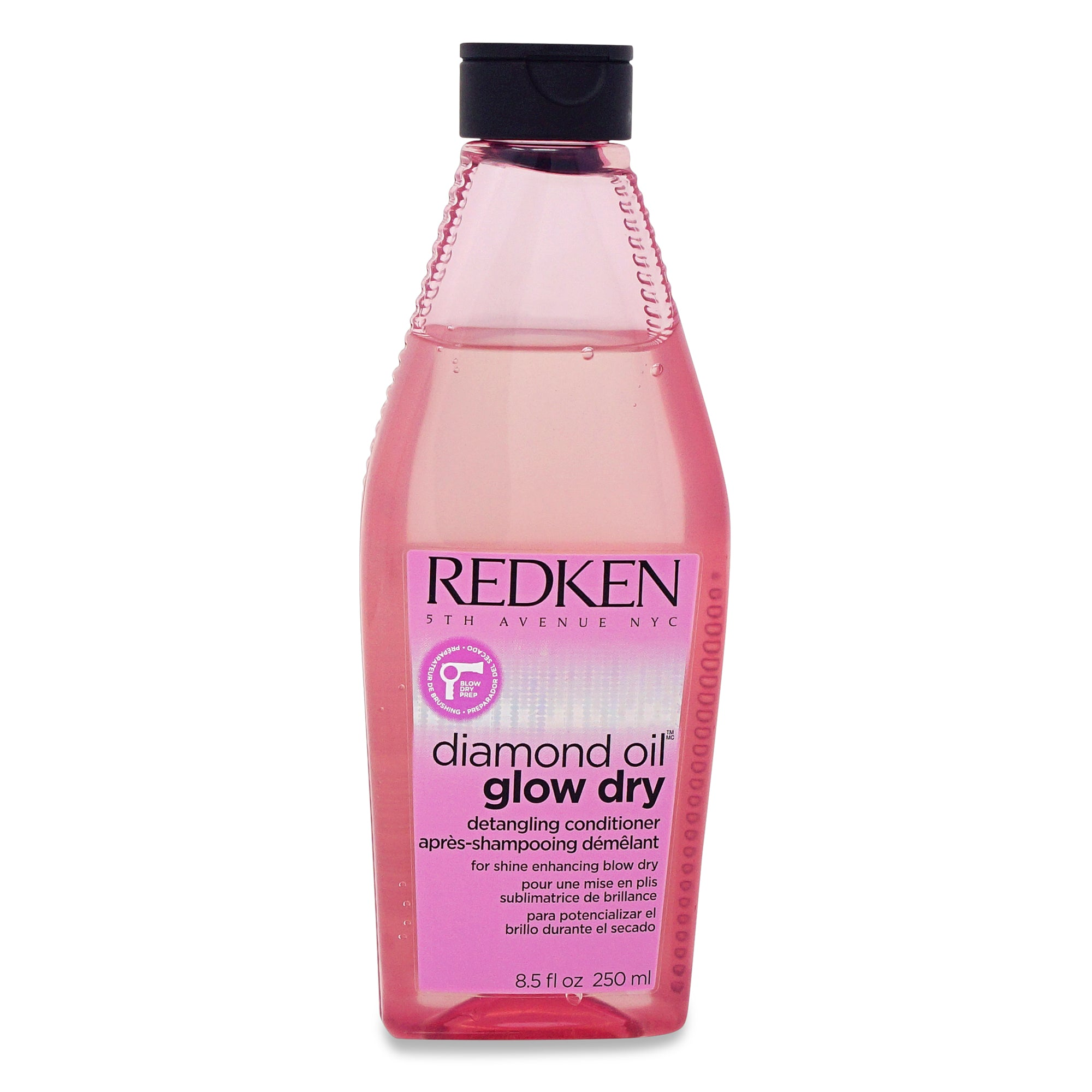 REDKEN ~ DIAMOND OIL GLOW DRY CONITIONER ~ 8.5 OZ