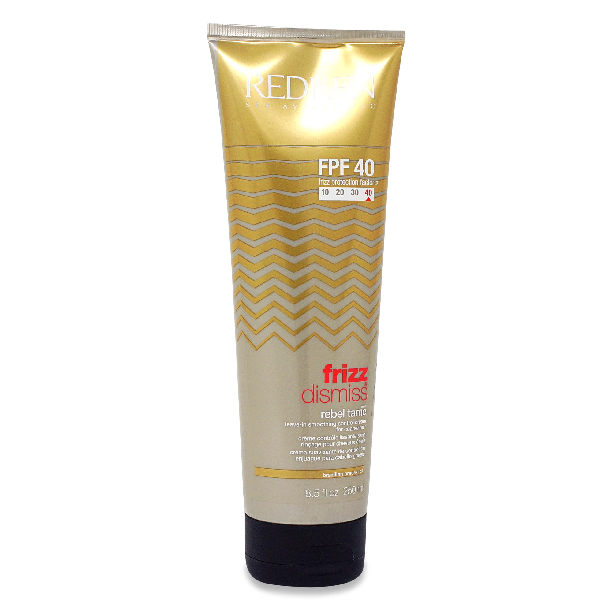 REDKEN ~ FRIZZ DISMISS REBEL TAME FPF 40~ 8.5 OZ