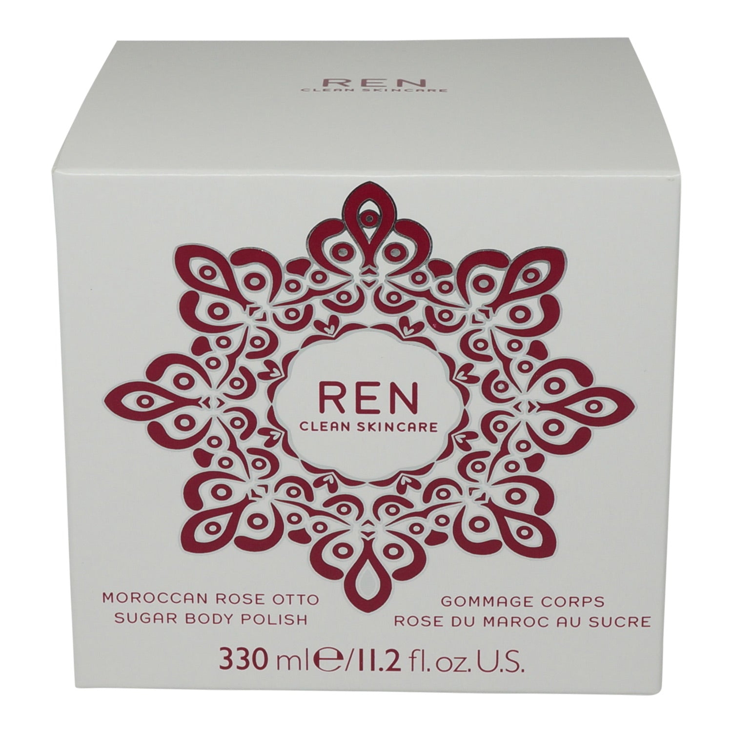 REN ~ MOROCCAN ROSE OTTO SUGAR BODY POLISH
