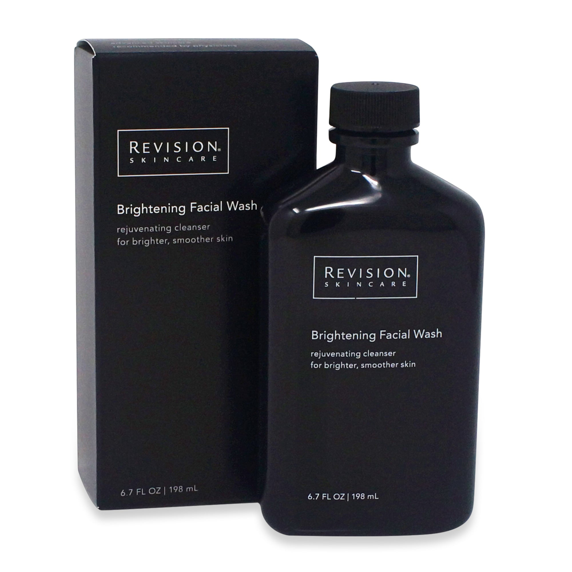 REVISION ~ BRIGHTENING FACIAL WASH ~ 6.7 FL OZ BOTTLE