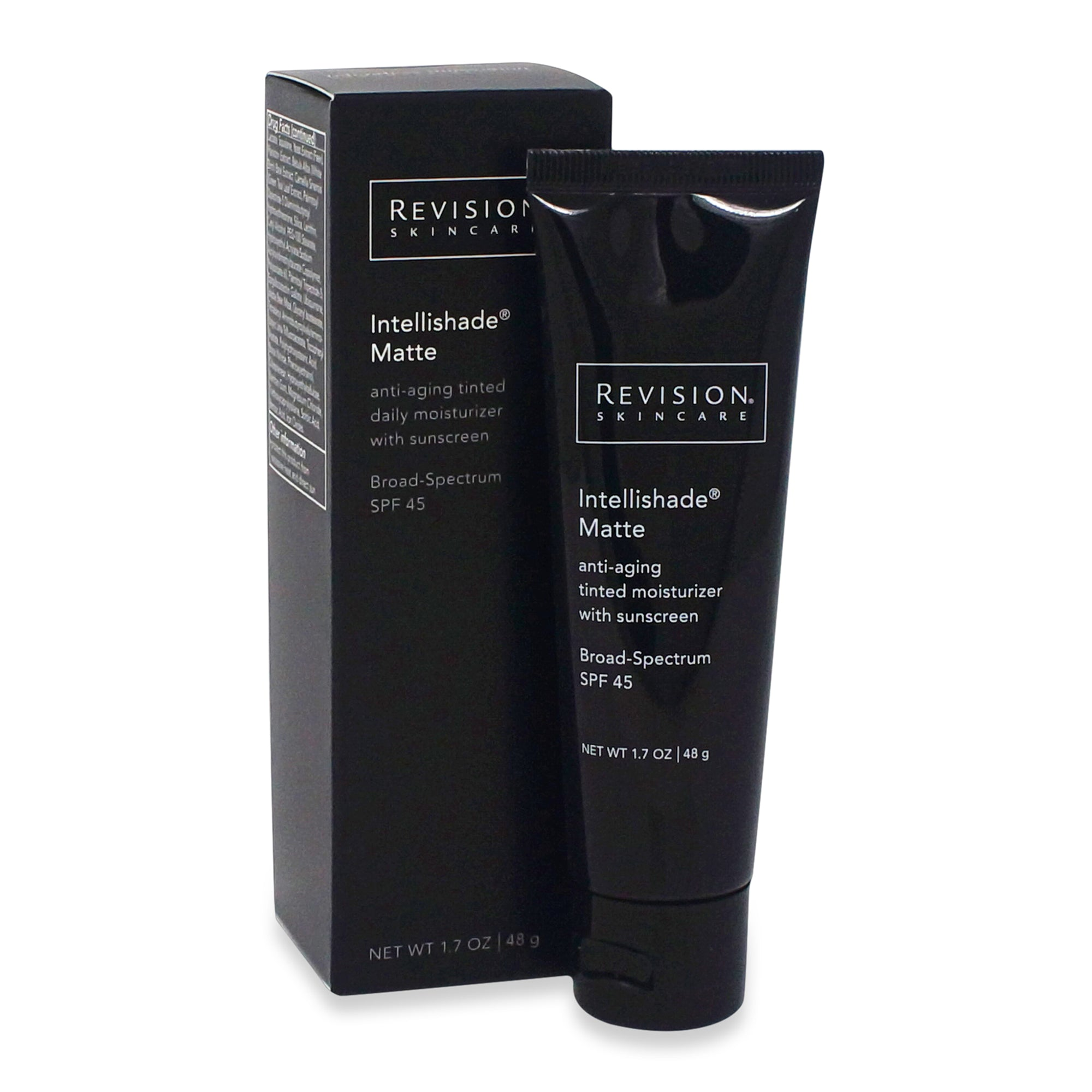 REVISION ~ INTELLISHADE MATTE SPF 45 ~ 1.7 OZ TUBE