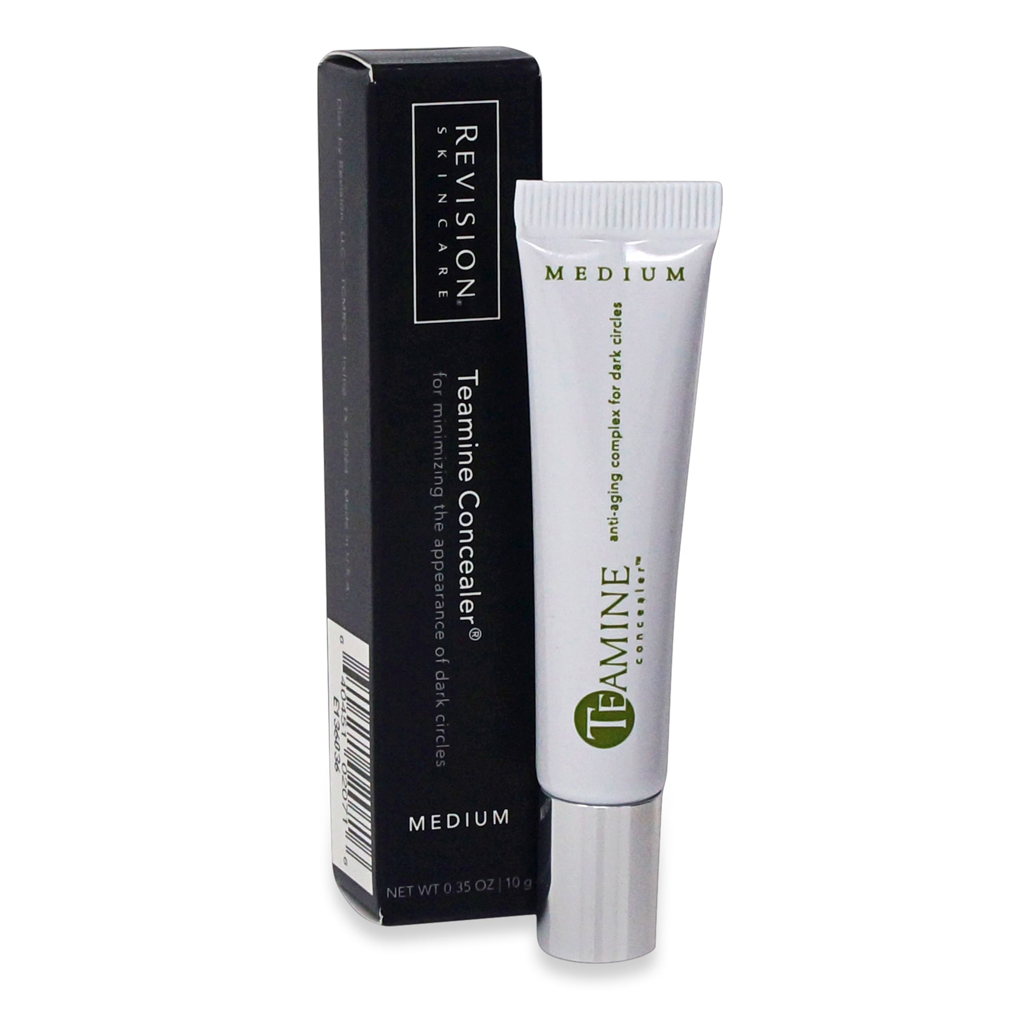REVISION ~ TEAMINE CONCEALER MEDIUM ~ 0.35 OZ TUBE