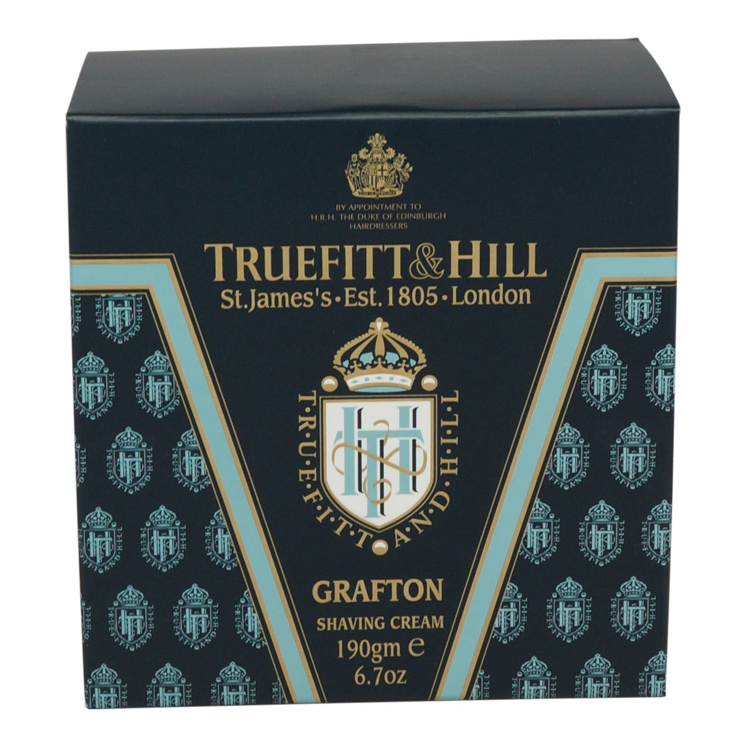 TRUEFITT ~ GRAFTON SHAVE CREAM BOWL ~ 6.7OZ