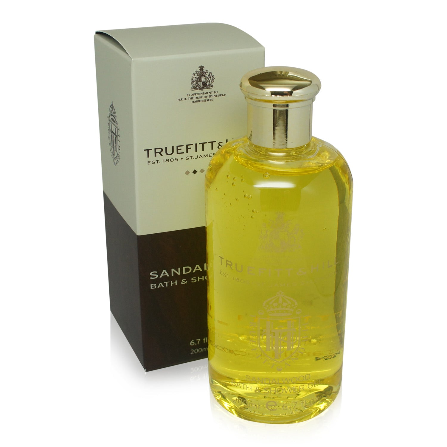 TRUEFITT ~ SANDALWOOD BATH & SHOWER GEL