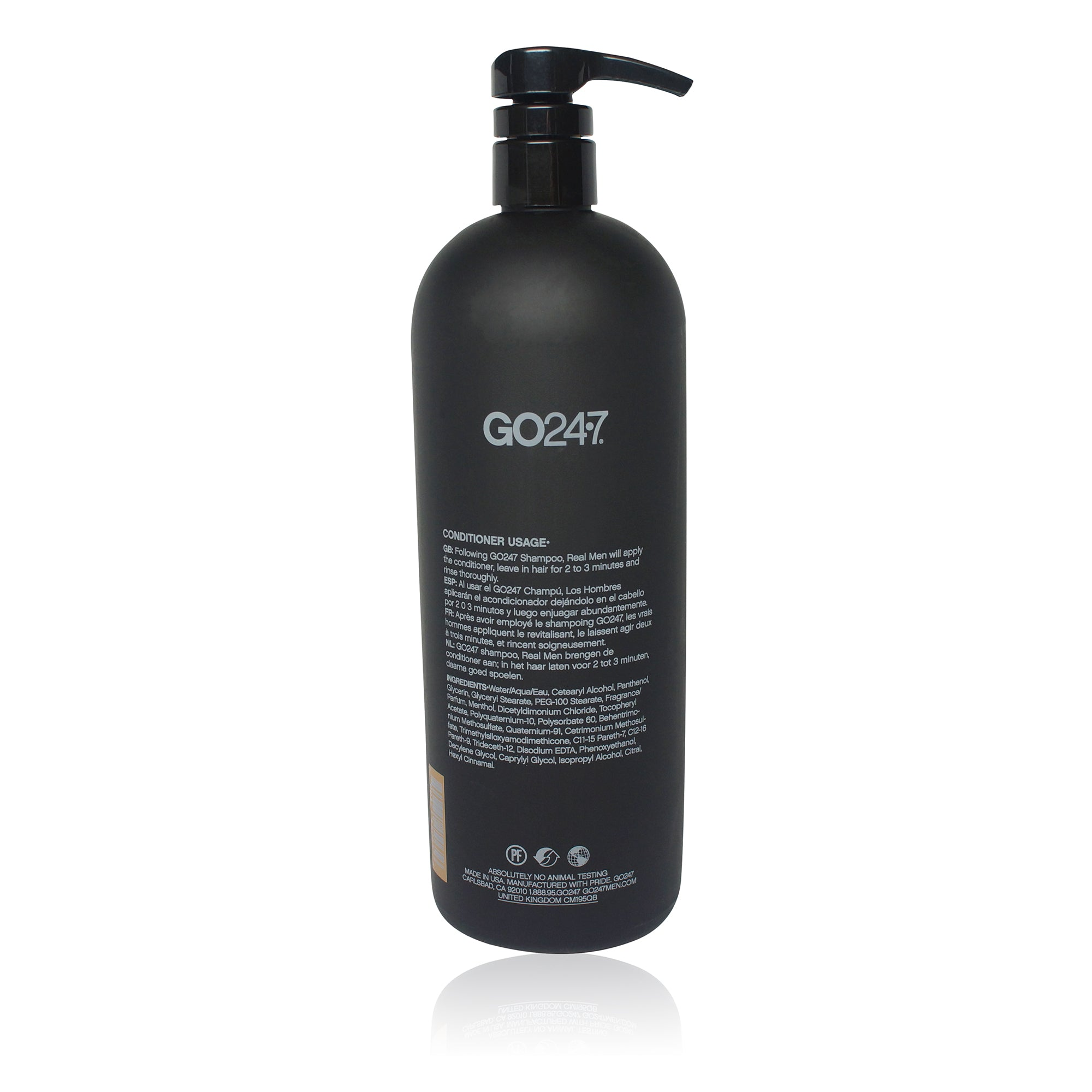 GO247 Real Men Conditioner 33.8 oz.