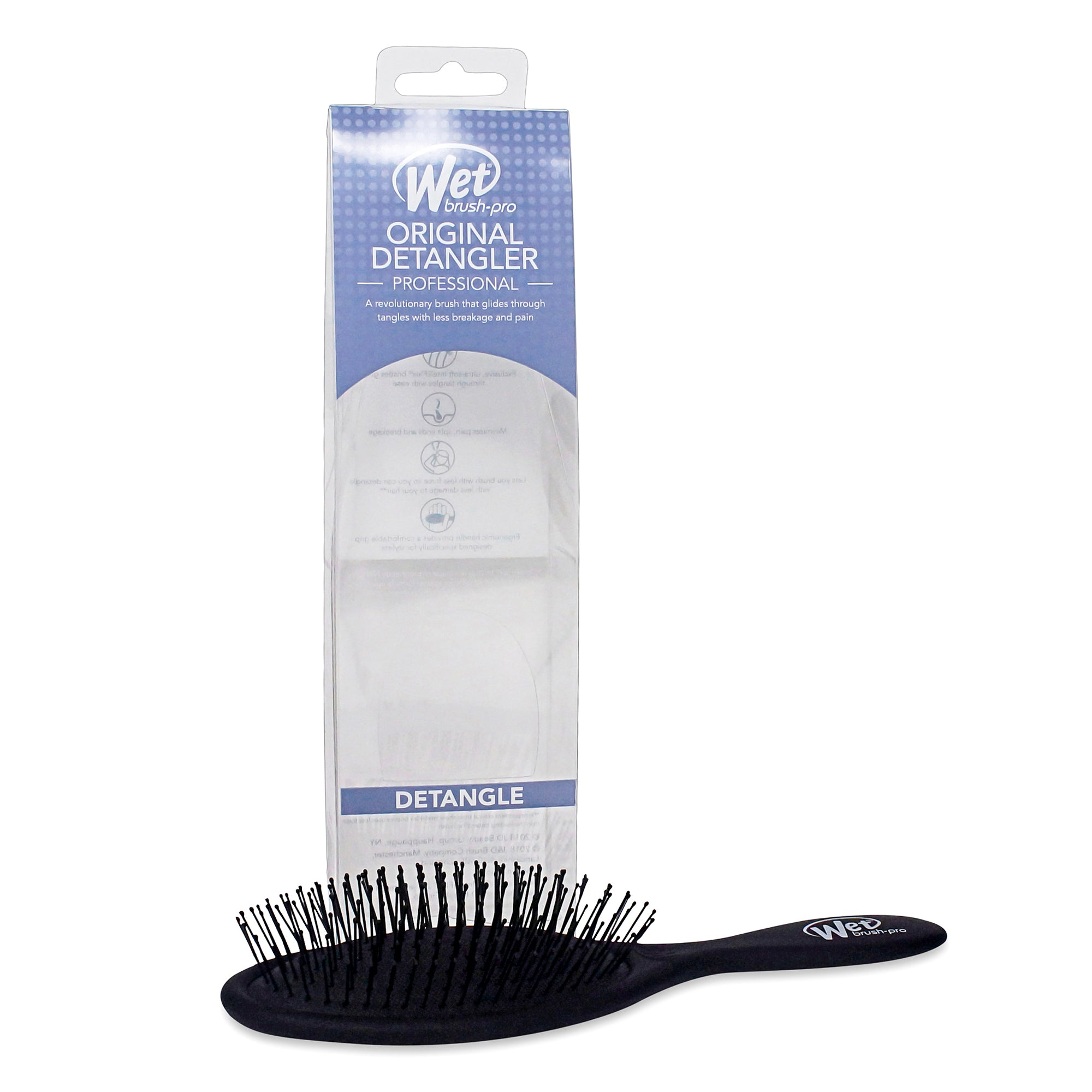 WET BRUSH ~ PRO ORIGINAL DETANGLER ~ BLACK