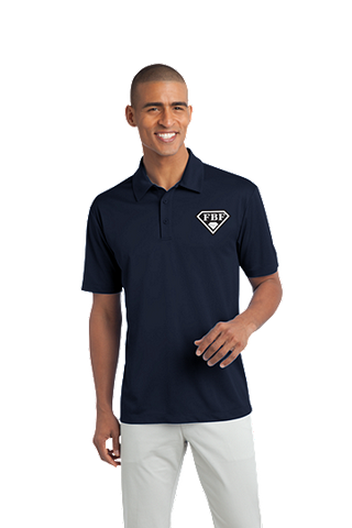 FBF Men's Dri Fit Performance Polo - Navy