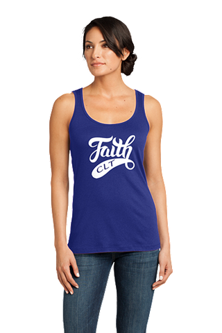 FBF Ladies CLT Rib Fitted Tank