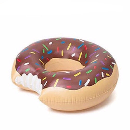 CHOCOLATE DONUT POOL FLOAT