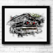 Kustom Hot Rod Photo / Drawn Images