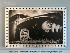 "Metal ""1951 Ford PU"" Perforated Aluminium print"