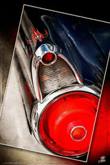 """ '55 T Bird"" (v2) Hot Rod photo garage banner"