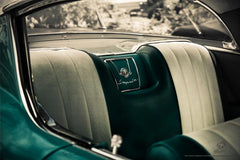 """1958 Chev Impala"" Classic Car photo print / garage art banner"