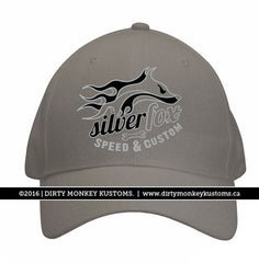 Silver Fox Speed and Custom - Concrete color hat