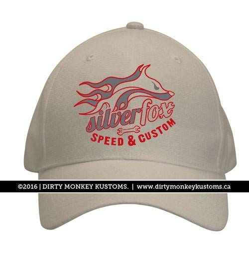Silver Fox Speed and Custom - Stone color hat