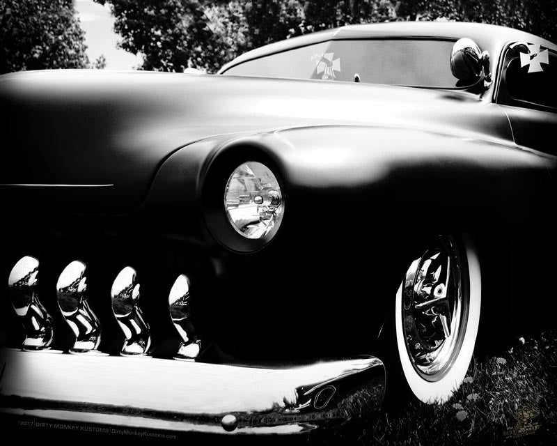 """Love Me A Mercury""  Hot Rod photo poster print"