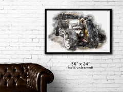 """Golden Boy""  Hot Rod Deuce photo poster print"