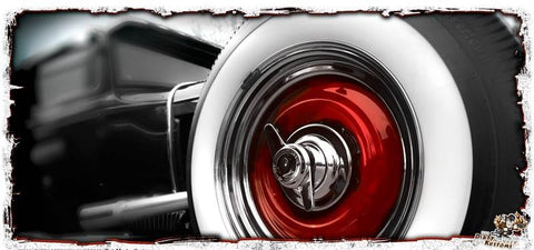 'Big Red' hot rod kustom coffee mug