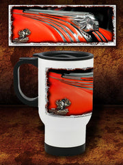 """The Chief""  Kustom Hot Rod Travel Mug"
