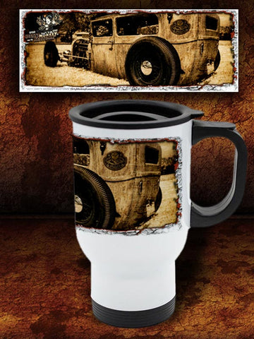 'Low Boy'   Kustom Hot Rod Travel Mug