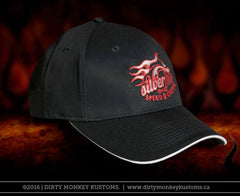 Silver Fox Speed and Custom - BLACK color hat