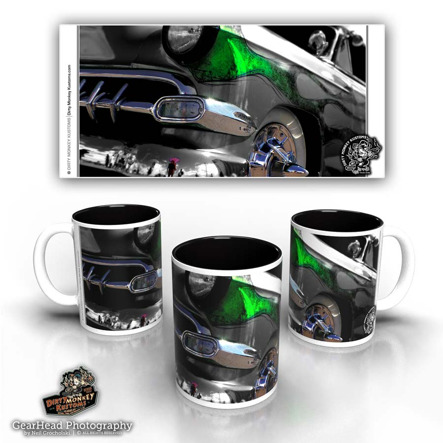 'Soylent Green'  kustom hot rod coffee mug