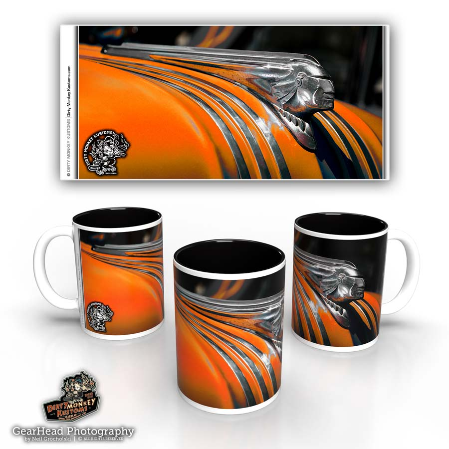 'Big Chief'  Hot Rod Coffee Mug