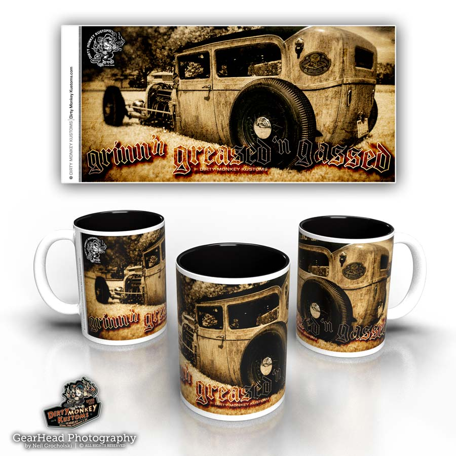 'Low Boy' hot rod coffee mug