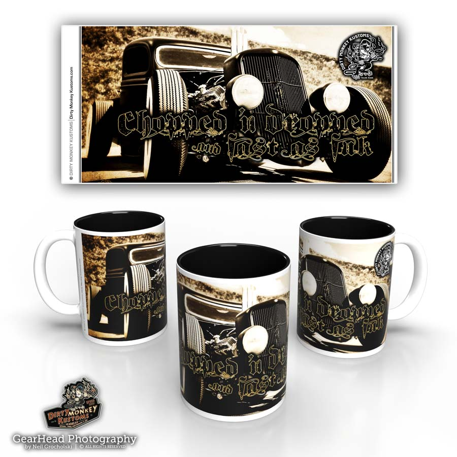 'Fast As F...'  rat rod coffee mug