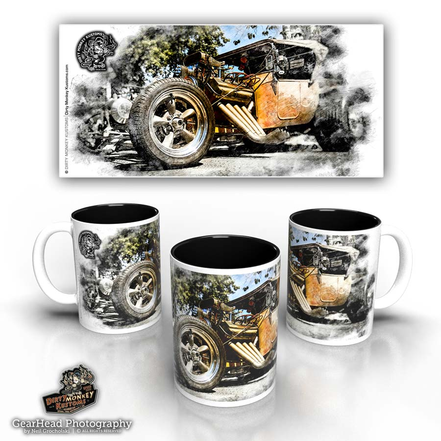 'T Bucket' hot rod coffee mug
