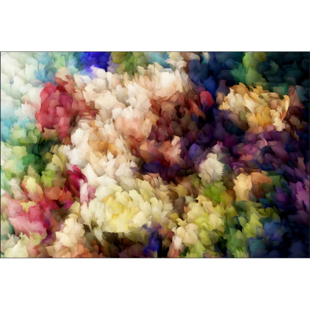 Abstract Floral Giclee Art Print