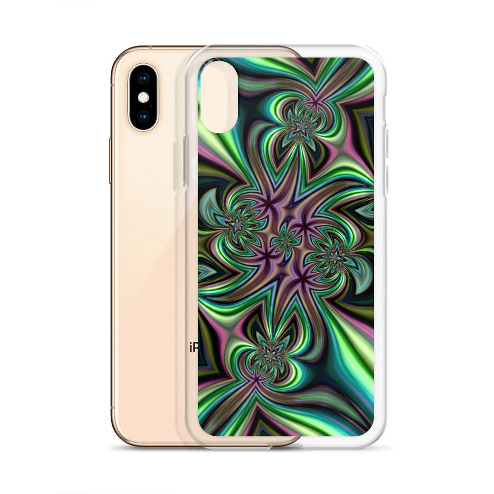 Green Fractal iPhone Case