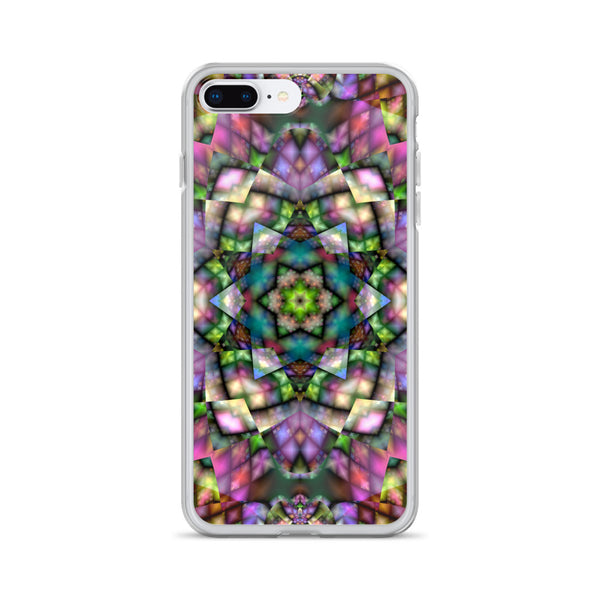 Multicolor Kaleidoscope iPhone Case