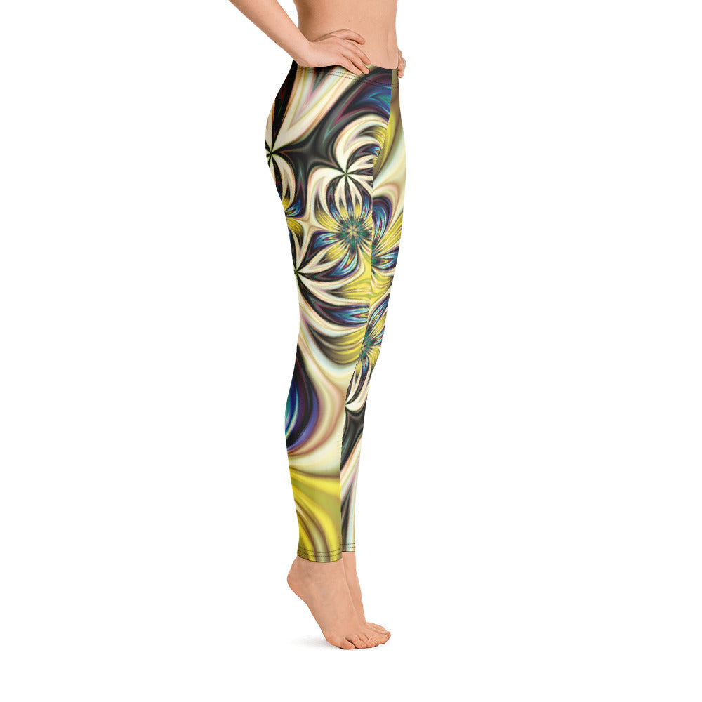 Lemon and Lime Leggings