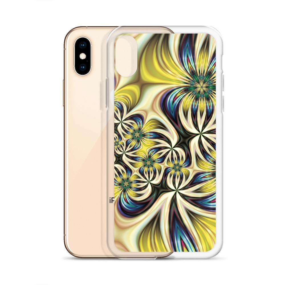 Lemon and Lime Floral Phone Case