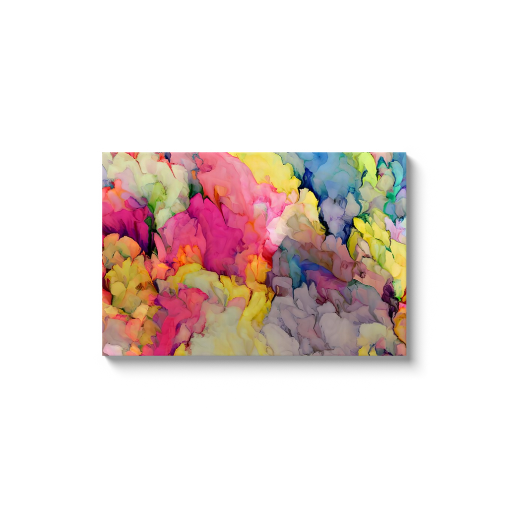 Summer Day Abstract Canvas Art