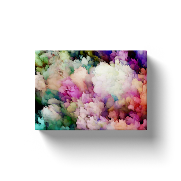 Abstract Floral #2 Canvas Print
