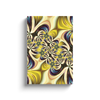 Lemon Lime Abstract Art Canvas