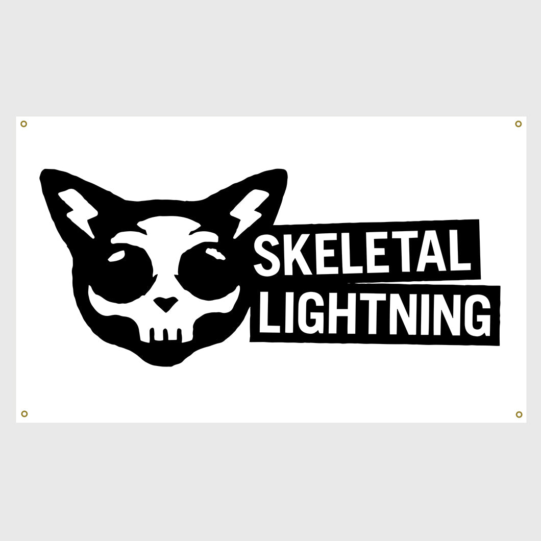Skeletal Lightning Flag