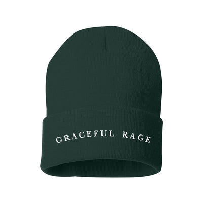 Harmony Woods - GRACEFUL RAGE Embroidered Beanie