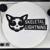 Skeletal Lightning Logo Slipmat