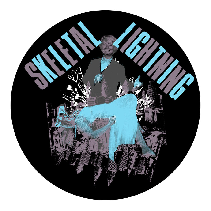 Skeletal Lightning Horse Magic Slipmat