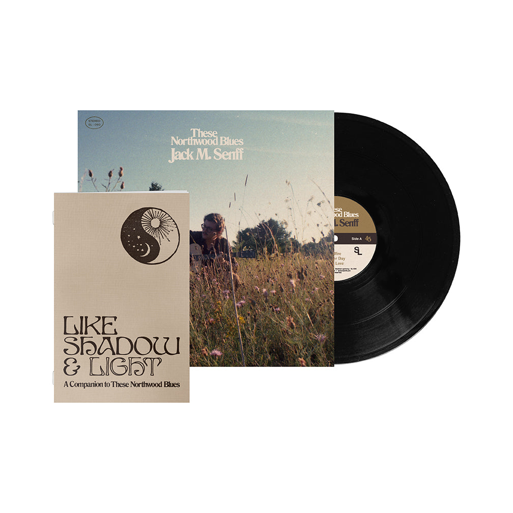 "Jack M. Senff - ""These Northwood Blues"" Vinyl + Zine Bundle"
