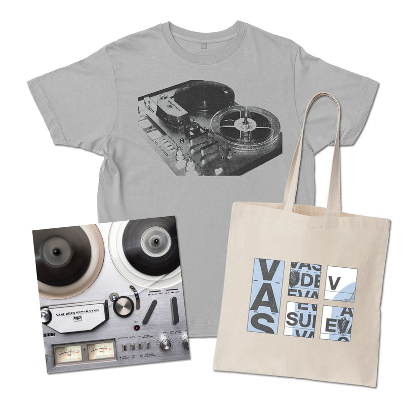 Vasudeva - Generator Merch Bundle