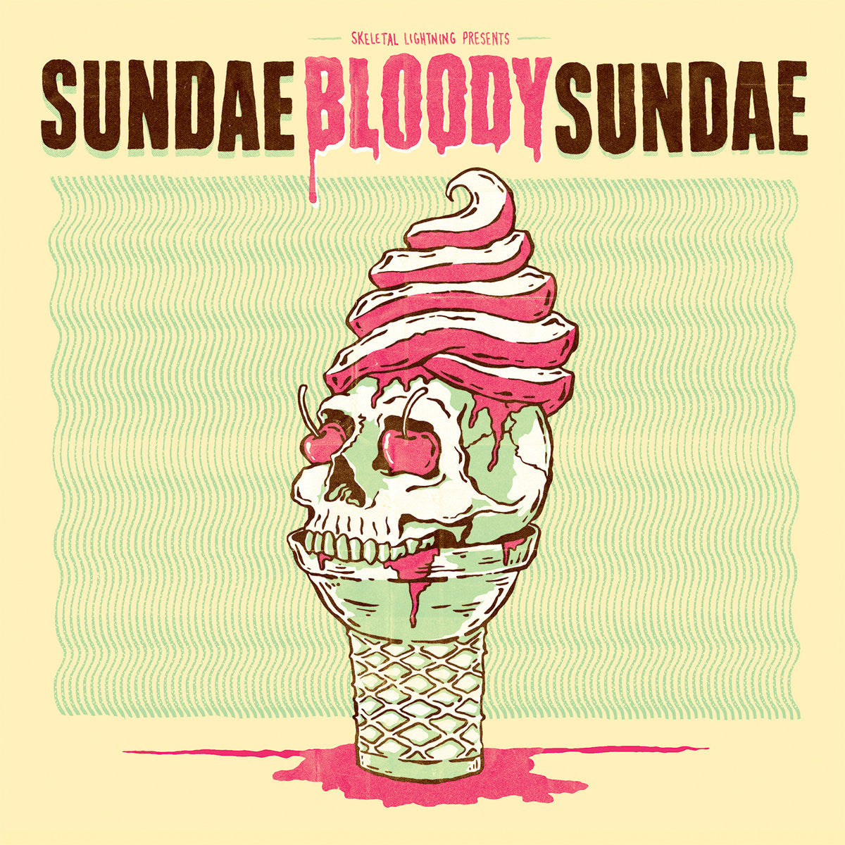 Various Artists: Sundae Bloody Sundae - 4-Way Split (Kittyhawk, TWIABP, Two Knights, Rozwell Kid)