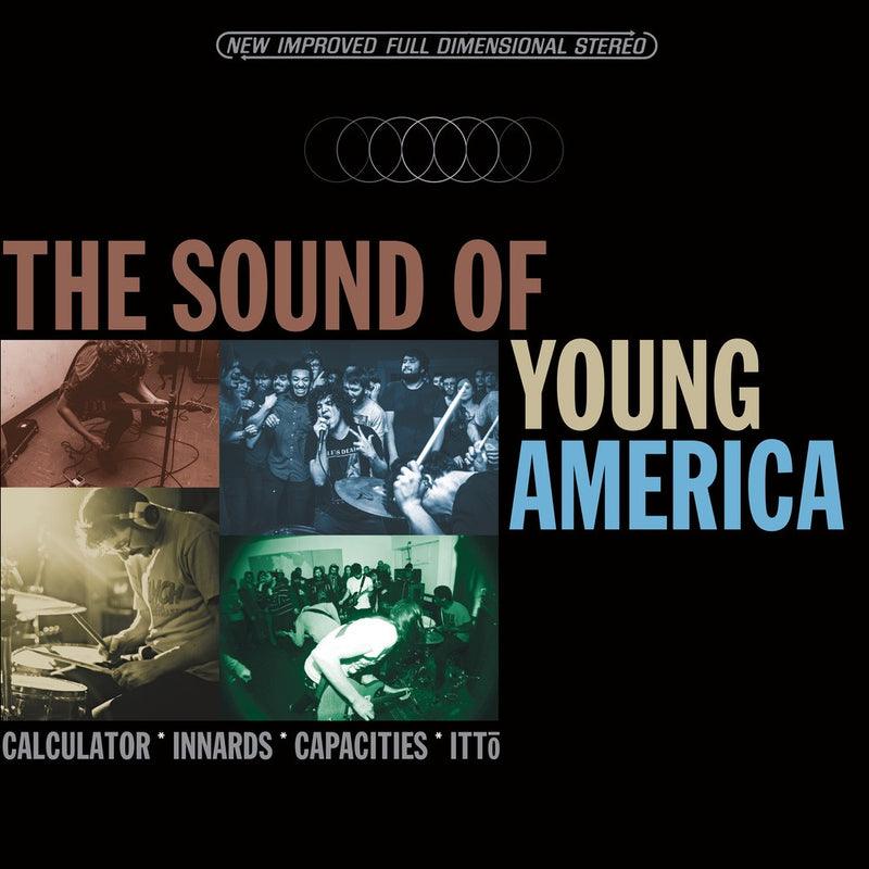 Calculator / Innards / Capacities / Ittō - The Sound of Young America 4-way Split