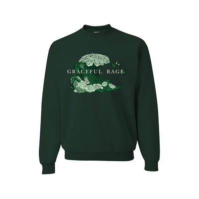 Harmony Woods - GRACEFUL RAGE Crewneck Sweatshirt