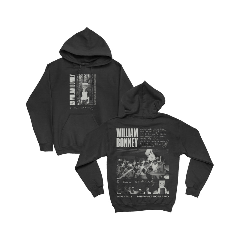 William Bonney - I Know Nothing Pullover Hooded Sweatshirt