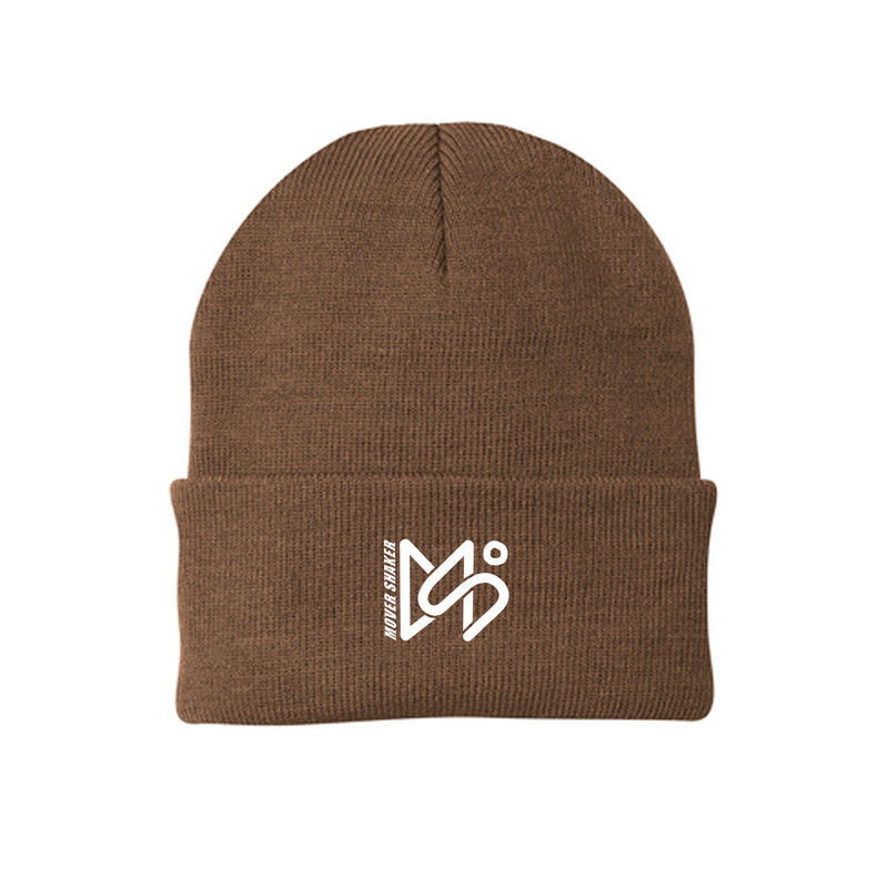 Mover Shaker - Embroidered Logo Beanie