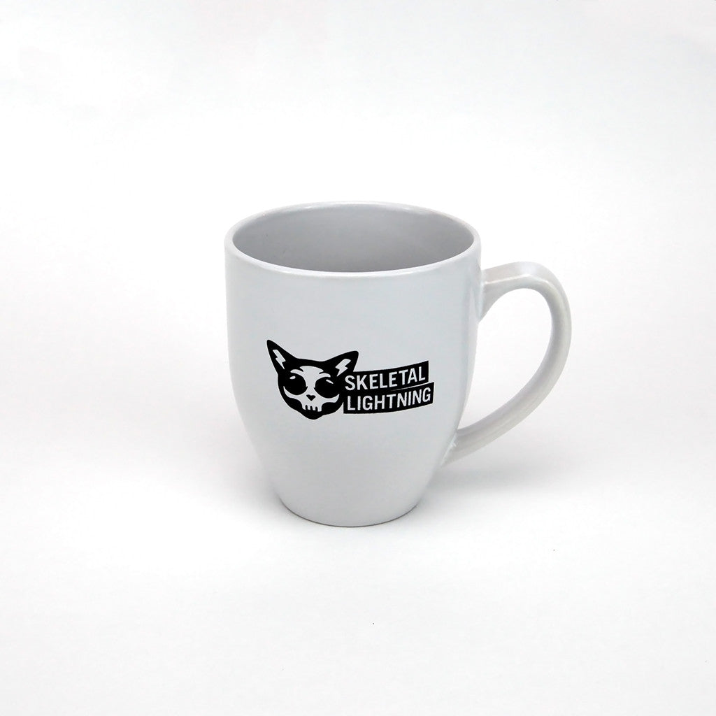 Skeletal Lightning Logo Coffee Mug